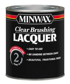 1 Quart Minwax Clear Satin  Brushing Lacquer