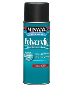 11.5 oz. Aerosol Gloss Polycrylic Protective Finish Spray