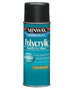 11.5 oz. Aerosol Semi Gloss Polycrylic Protective Finish Spra
