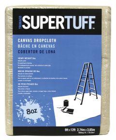 9 ft. x 12 ft. 8oz. SuperTuff Heavyweight Canvas Drop Cloth
