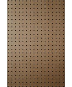 1/4 in. x 2 ft. x 4 ft. Tempered Pegboard