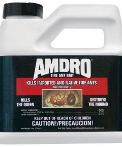 Amdro Fire Ant Bait, 6 oz Bottle, Yellow Tan, Granular