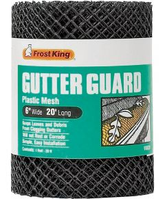 Gutter Guard 6 in. x 20 ft. Frost King