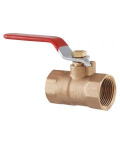 1 in. IPS Low Lead Brass Ball Valve