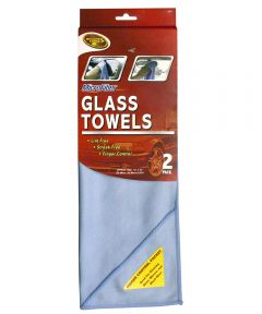 Microfiber Glass Towel 2 Count