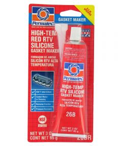 3 oz. High-Temp Red RTV Silicone Gasket