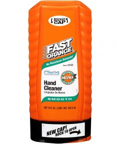 Fast Orange Hand Cleaner Cream Smooth Formula, 15 oz.