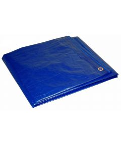 10 ft. x 12 ft. Blue Cut Size Tarp
