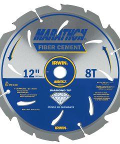 12 in. 8T Marathon Fiber Cement Circular Saw Blade