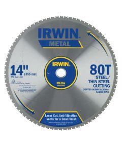 14 in. 80 Tooth Carbide Metal Cutting Circular Saw Blade