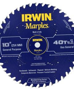 10 in. Marples 40 Tooth Circular Saw Blade