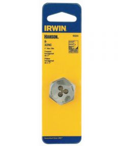 1 in. HCS Hex Machine Screw Die 8-32 NC