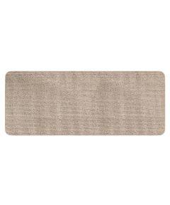 Multy 2 ft. x 5 ft. Tufted Beige Brooklyn Gel Foam Backed Floor Mat