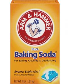 Arm & Hammer Fridge-N-Freezer 0Baking Soda, 4 lb, Box