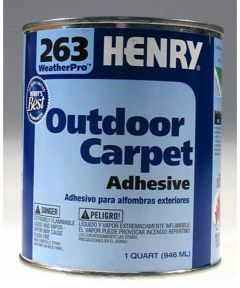 1 Gallon All Weather Outdoor Carpet Adhesive
