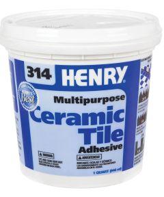1 Quart Multipurpose Ceramic Tile Adhesive