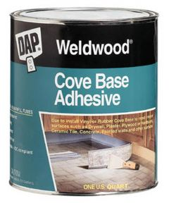 1 Quart Weldwood Cove Base Adhesive