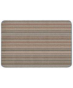 Multy 2 ft. x 3 ft. Montana Striped Colors Tufted Floor Mat Runner