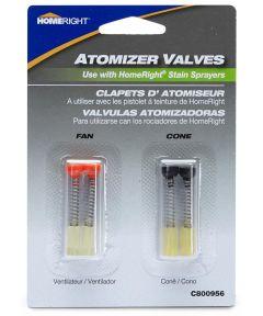 Fan & Cone Atomizer Valves