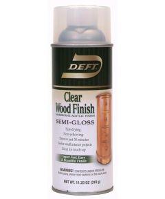 11.25 oz. Clear Semi-Gloss Interior Waterborne Wood Finish