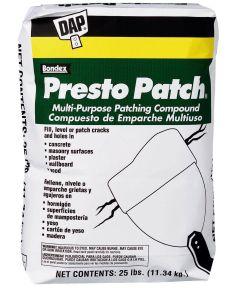 25 lb. Presto Patch Multi Purpose Patching Compound