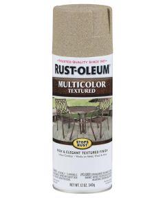 Stops Rust MultiColor Textured Spray, 12 oz Spray Paint, Desert Bisque