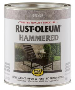 Stops Rust Hammered, Quart, Silver