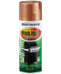 Specialty Ultra High Heat , 12 oz Spray Paint, Aged Copper