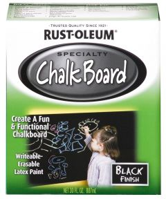 Specialty Chalkboard Brush-On, Quart, Black