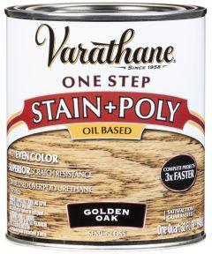 Varathane One Step Stain & Polyurethane, Quart, Golden Oak