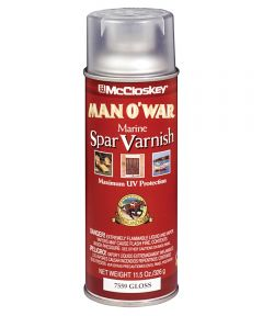 11.5 oz.  Gloss Man O ft. War Marine Spar Varnish Spray