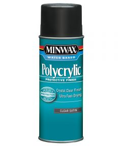 11.5 oz. Aerosol Satin Polycrylic Protective Finish Spray