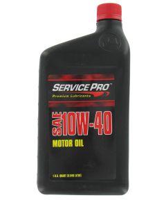 Service Pro 1 Qt. SAE 10W-40 Motor Oil