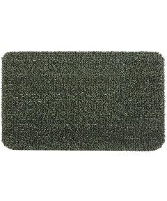 GrassWorx 30 in. x 18 in. Clean Machine Scraper Flair Nonslip Door Mat, EverGreen