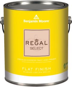 1 Gallon Regal Select Waterborne Interior Flat White Paint