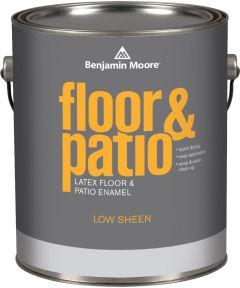 1 Gallon Floor and Patio Latex Enamel  Paint Low Sheen Brown