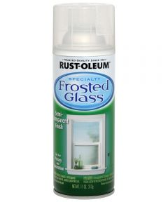Specialty Frosted Glass Spray, 11 oz Spray Paint, Frosted Glass