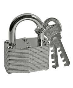 1-3/4 in. Laminated Key Padlock