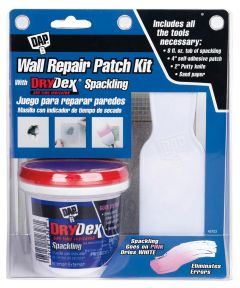 3 in. Wall Repair Patch Kit With DryDex Spackling