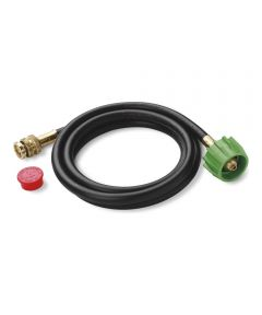 Weber 6 ft. Adapter Hose for Weber Q and Go-Anywhere Gas Grills