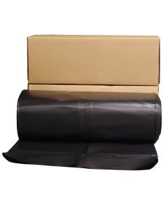20 ft. x 100 ft. 6 ML Polyethylene Black Plastic Sheeting