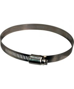 2-13/16 - 3-3/4 in. Stainless Steel Hose Clamp