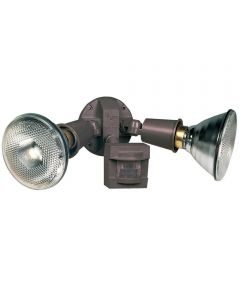 Bronze Motion Sensing Security Light Fixture