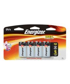 Energizer Max 9V Battery, 4 Pack