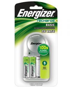 Recharge Charger Pack for Energizer AA/AAA NiMH Rechargeable Batteries