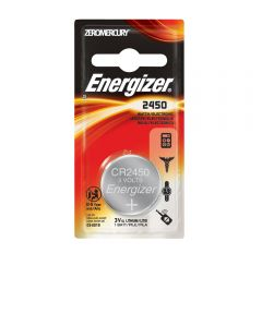 Energizer 2450 Watch/Electronic Battery, 1 Pack