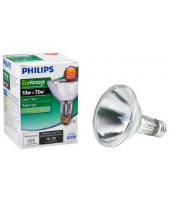 53 Watt Soft White PAR30 Spot Halogen Light Bulb