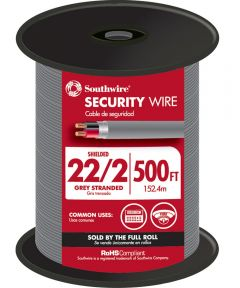 Grey 22 Gauge 2 Wire Security Wire (Sold Per Foot)