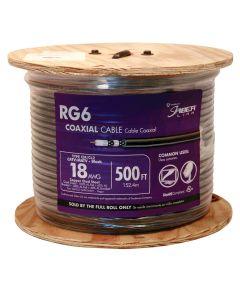 Black RG6 Coaxial Cable (Sold Per Foot)