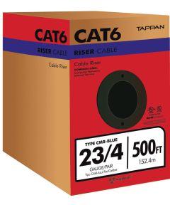 23/4 Pair Cat 6 Riser Cable (Sold Per Foot)